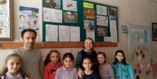 Hisarcık'ta öğrenciler Coronavirüsü konusunda bilgilendirildi