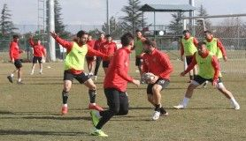 Eskişehirspor maç saatini beklemeye geçti