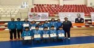 Badmintonda Malatya takımları birinci oldu