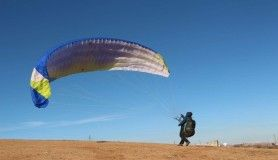 Siirt'te yamaç paraşütüne ilgi giderek artıyor