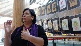 Türkiye'de 11 yılda cinayete kurban giden 3 bin 150 kadının portresini çizdi