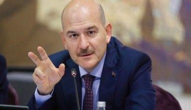 İçişleri Bakanı Soylu Edirne'de