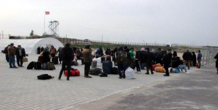 Suriye sınırında koronavirüsü tedbiri
