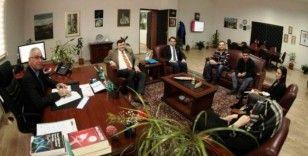 Vali Yardımcısı Ertekin'den Güzel Sanatlar Fakültesi'ne ziyaret