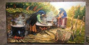 Üsküdar'da 'İş ile Düş Arasında' resim sergisi