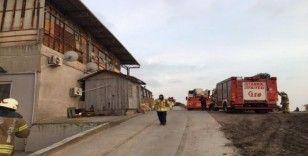 Tuzla Deri Sanayi'de korkutan yangın