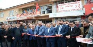 Milletvekili Fendoğlu, Darende'de ilçe binasının açılışına katıldı