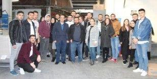 Gediz MYO'dan ambalaj fabrikasına teknik gezi