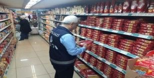 Marketlerde koronavirüs denetimi