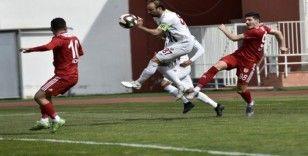 TFF 2. Lig: Gümüşhanespor: 0 - İnegölspor: 0
