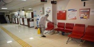MESKİ, korona virüse karşı ilaçlama yaptı