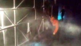Afyonkarahisar'da yolcu otobüsü devrildi