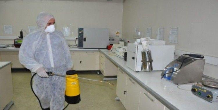 ETB'de Koronavirüs'e karşı tedbir amaçlı dezenfekte çalışması yapıldı