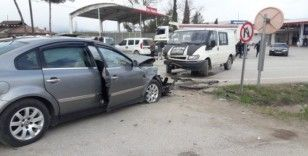 Sinop'ta trafik kazası: 6 yaralı