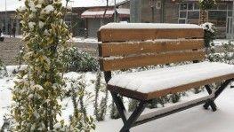 Nevşehir, Mart ayında beyaza büründü