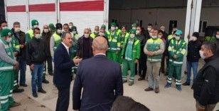 Başkan Kılınç, temizlik çalışmalarını inceledi