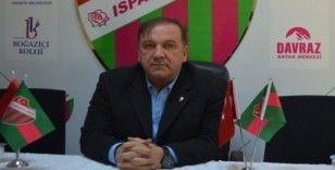 Isparta 32 Başkanı Yazgan: 'Adalet inşallah yerini bulacak'
