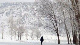 Erzincan'da Mart'ta karla mücadele