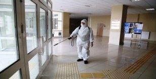 ASÜ'de sterilizasyon tedbirleri titizlikle uygulanıyor