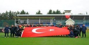 Gaziantep FK Ankaragücü maçına hazırlanıyor