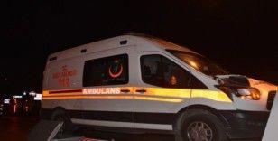 İzmir'de ambulansın çarptığı çift yaşamını yitirdi