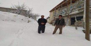 Malatya'da Mart ayında yoğun kar yağışı