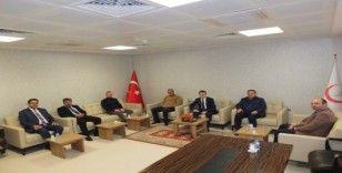 AK Parti'den İl Sağlık Müdürü Sarı'ya ziyaret