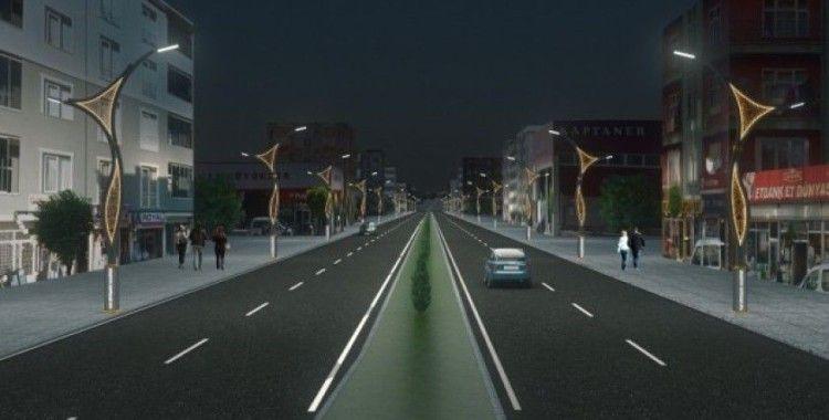 Van Büyükşehir Belediyesinden 3. prestij cadde çalışması