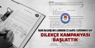 """Başkan Kalkan: """"Proje okullarında görevlendirilmeyen idarecilere başka kurumlarda idareci olma hakkı tanınmalı"""""""