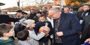 Öğrencilere bir müjde de Başkan Ergün'den