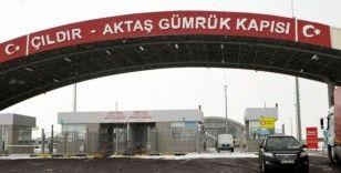 Çıldır-Aktaş Gümrük Kapısı uluslararası taşımacılığın yeni adresi oldu