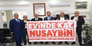 Nusaybin'deki STK'lardan vatandaşlara 'evinde kal' çağrısı