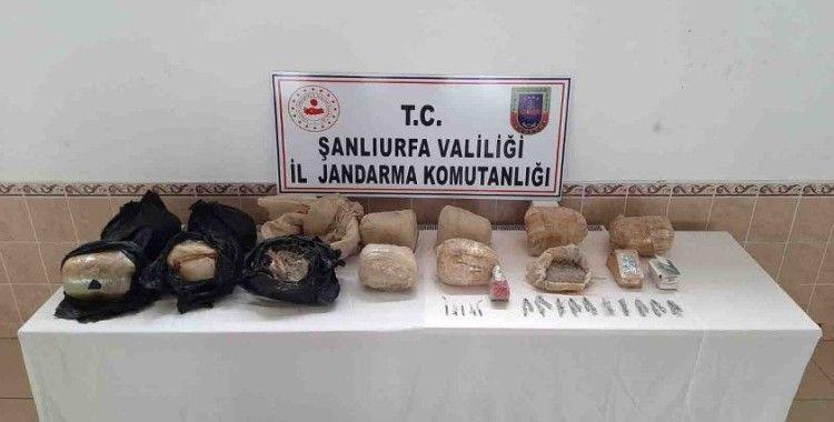 Şanlıurfa kırsalında 97 kilogram patlayıcı bulundu