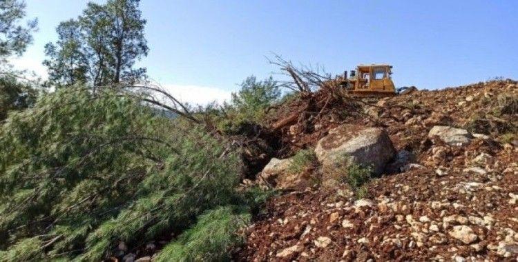 Orman envanterlerine zarar verdiği iddia edilen 3 kişi savcılığa sevk edildi