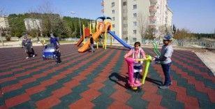Narlıkuyu ve Necmettin Erbakan parkları yenilendi