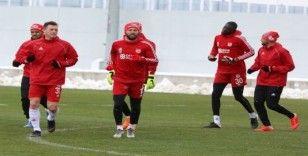 Sivasspor 5 eksikle çalıştı
