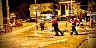 Didim'de dezenfekte çalışmaları devam ediyor