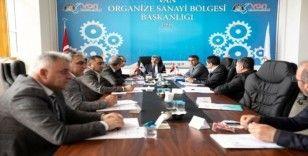 Van OSB Müteşebbis Heyeti Toplantısı yapıldı