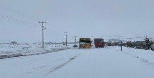 Nevşehir'de 20 köy yolu ulaşıma kapandı