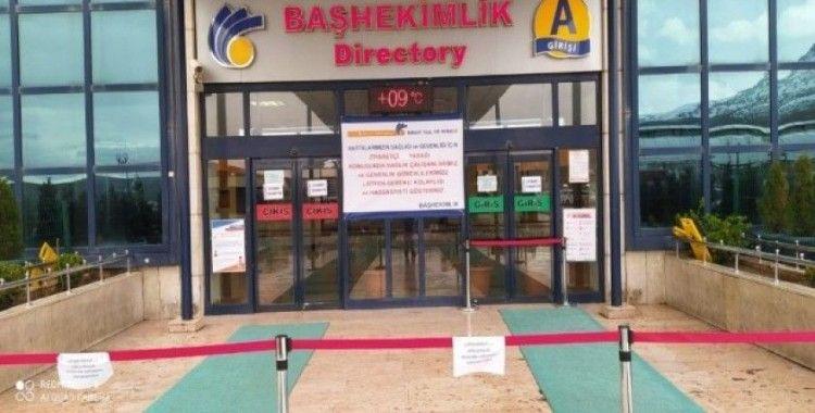 Turgut Özal Tıp Merkezi'nde 'korona' önlemleri