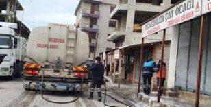 Erciş'te korona virüsü tedbirleri