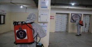 Türkiye'den İdlib'de sterilizasyon işlemlerine destek