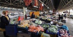Menteşe halk pazarında poşetli dönem başladı