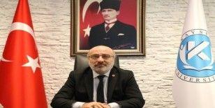 KAYÜ Rektörü Karamustafa'dan Miraç Kandili Mesajı