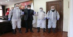 İspir Belediyesi Koronavirüse karşı seferber oldu