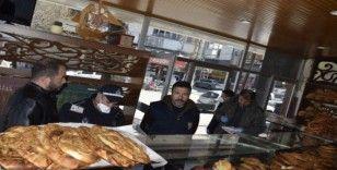 Burdur'da çay ocakları kapatılırken, fırınlar uyarıldı