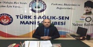 Türk Sağlık Sen, sağlık çalışanlarının sorunlarının çözülmesini istedi