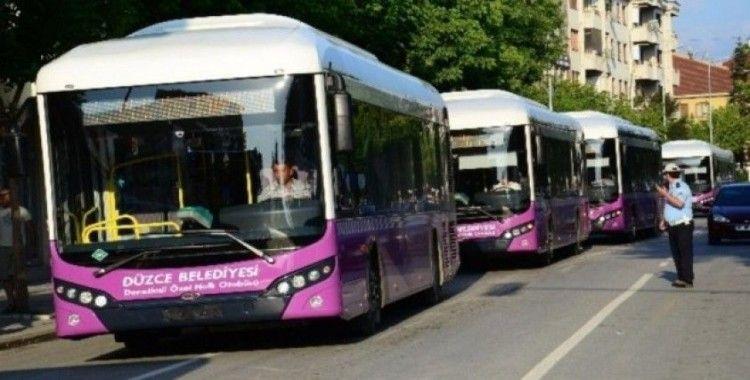 Başkan Faruk Özlü'den Sağlık çalışanlarına otobüsler ücretsiz