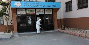Serdivan'da tüm eğitim kurumları baştan sona dezenfekte edildi