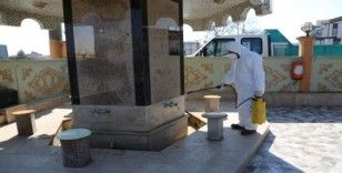 Serdivan'ın her noktası dezenfekte ediliyor